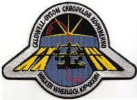 International Space Station Expedition 24 Patch with names